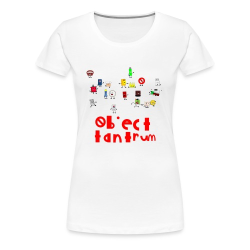 object tantrum cast - Women's Premium T-Shirt