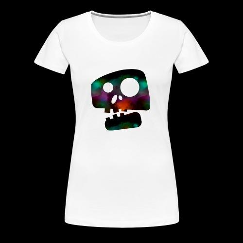 Retro skully - Women's Premium T-Shirt