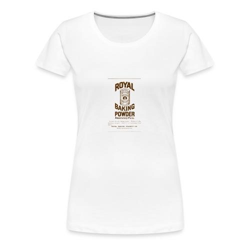 Royal Baking Powder - Women's Premium T-Shirt
