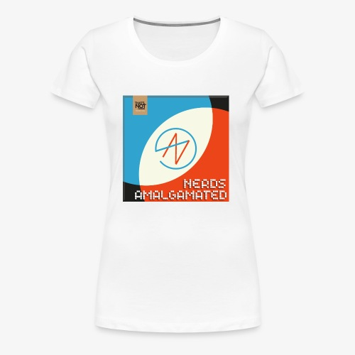 Top Shelf Nerds Cover - Women's Premium T-Shirt