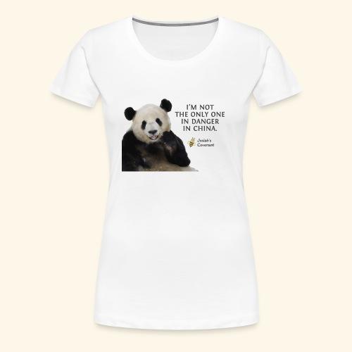 Endangered Pandas - Women's Premium T-Shirt