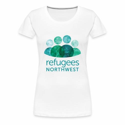 Refugees Northwest Logo Design - Women's Premium T-Shirt