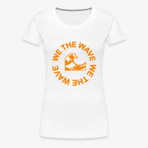 WTW Orange - Women's Premium T-Shirt