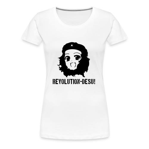 Revolution-Desu - Women's Premium T-Shirt