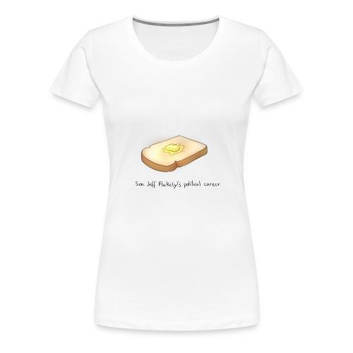 he's toast - Women's Premium T-Shirt