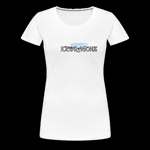 Icedragonz name shirt - Women's Premium T-Shirt