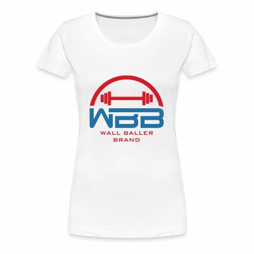 Loaded Barbell Baller - Women's Premium T-Shirt