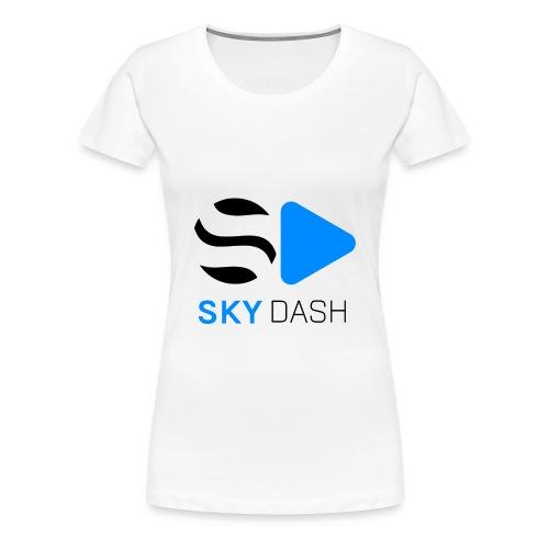 Sky Dash LOGO - Women's Premium T-Shirt