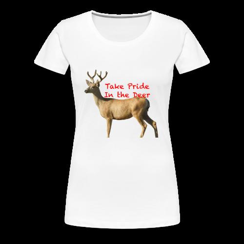 Take Pride in the Deer - Women's Premium T-Shirt