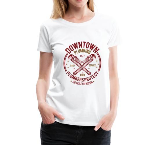 Downtown Plumbing - Women's Premium T-Shirt