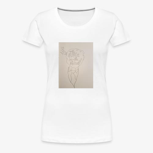 The Battle In The Mind - Women's Premium T-Shirt