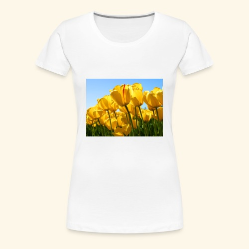 Tulips - Women's Premium T-Shirt