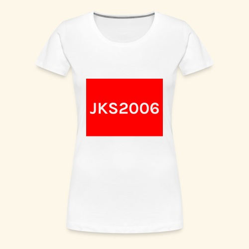 JKS2006 boxed logo - Women's Premium T-Shirt