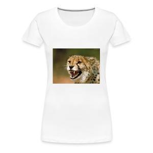cheetah big cat - Women's Premium T-Shirt