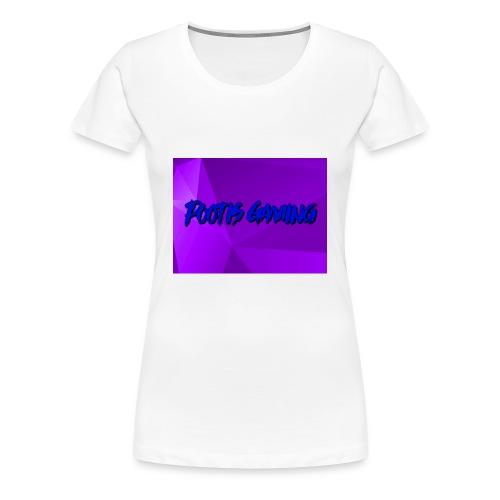 Pootis Gaming - Women's Premium T-Shirt