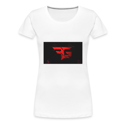 fg logo fibergaming by orjicreative da2uks4 - Women's Premium T-Shirt