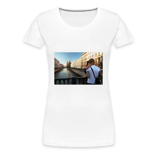 Love Lust or Bust Travel Lovers - Women's Premium T-Shirt