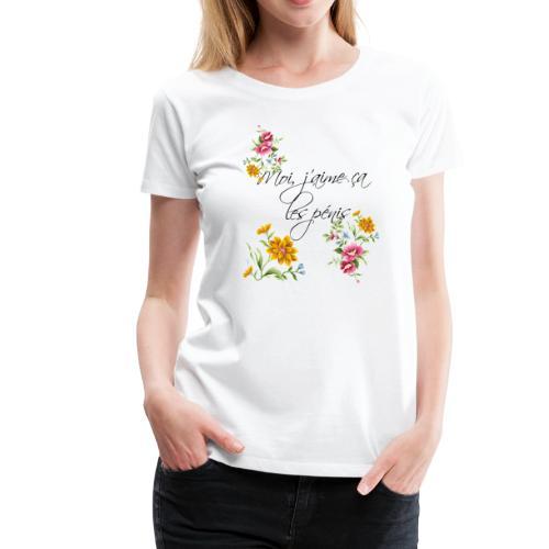 I like penises - Women's Premium T-Shirt