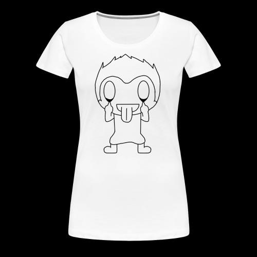 Childish Munki - Women's Premium T-Shirt