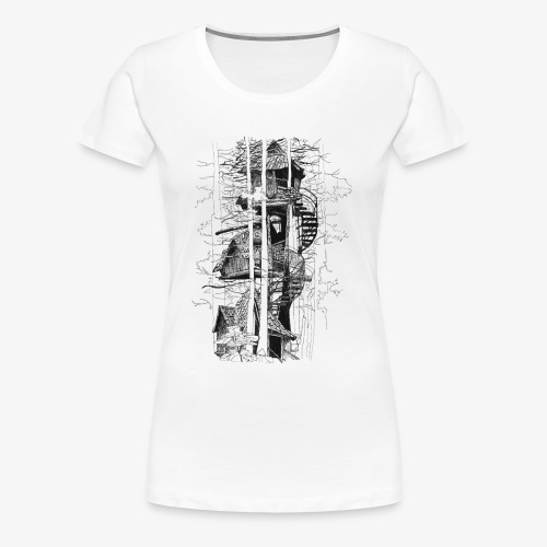 Tee House - Women's Premium T-Shirt