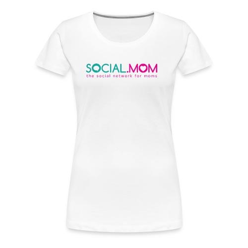 Social.mom Logo English - Women's Premium T-Shirt