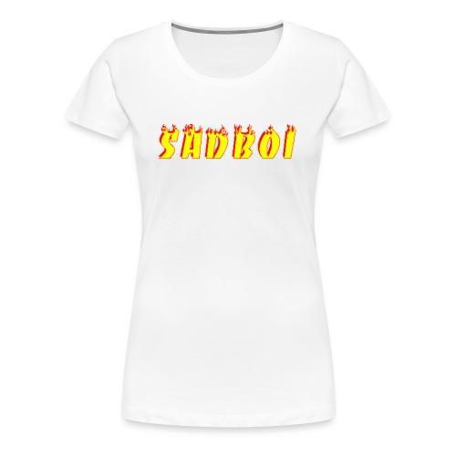 sadboiflames - Women's Premium T-Shirt