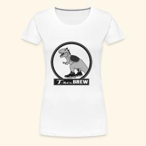 T-Rex BEER Design III - Women's Premium T-Shirt