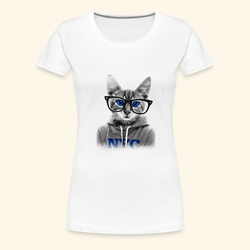 smart cat - Women's Premium T-Shirt