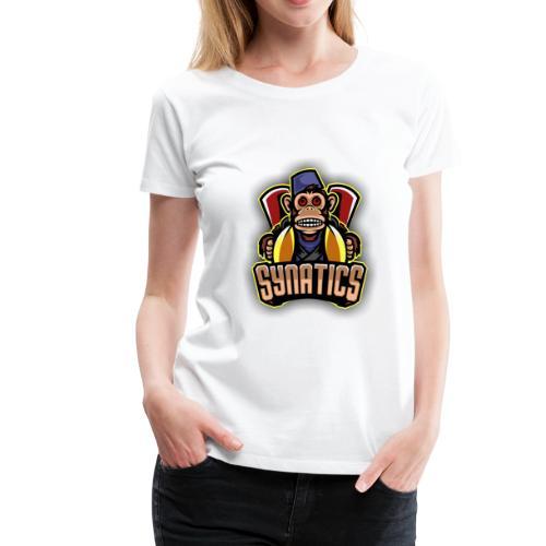 Synatics mascot logo - Women's Premium T-Shirt