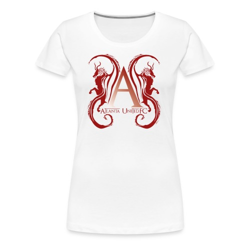 AUFC Logo red - Women's Premium T-Shirt