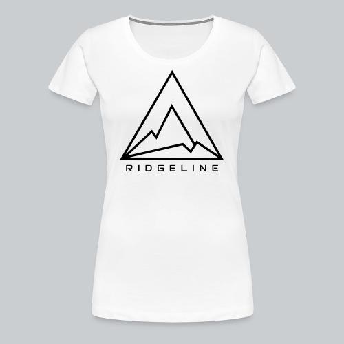 Ridgeline Black and White - Women's Premium T-Shirt