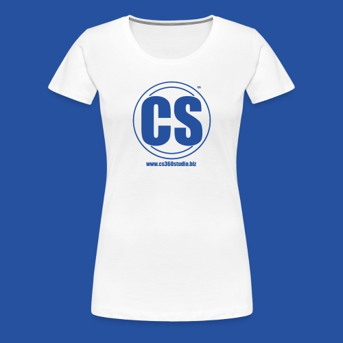 CS360Studio Logo - Women's Premium T-Shirt