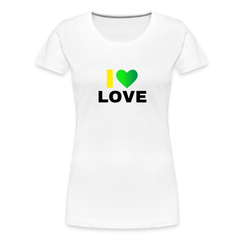 Island Love - Women's Premium T-Shirt