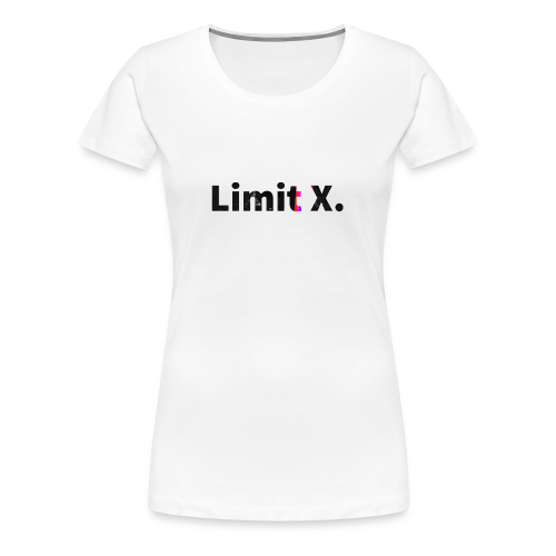 Limit X Logo - Women's Premium T-Shirt