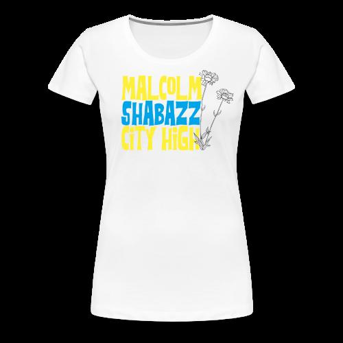 Malcolm Shabazz City High - Women's Premium T-Shirt