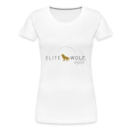 higher res logo - Women's Premium T-Shirt