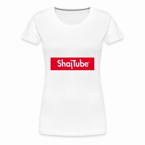 shajtube logo - Women's Premium T-Shirt