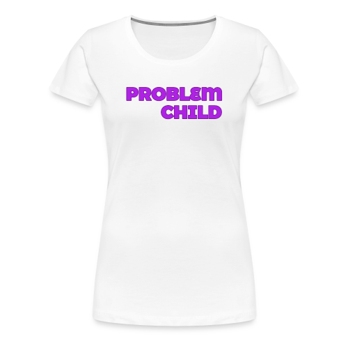 Problem Child Logo - Women's Premium T-Shirt