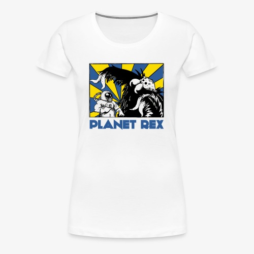 Planet Rex - Grif & Ky - Women's Premium T-Shirt