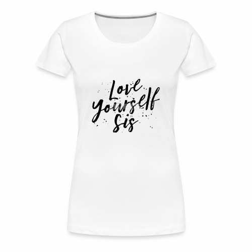Tshirt Design love02 - Women's Premium T-Shirt