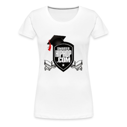 Official Smarterhiphop Merch - Women's Premium T-Shirt