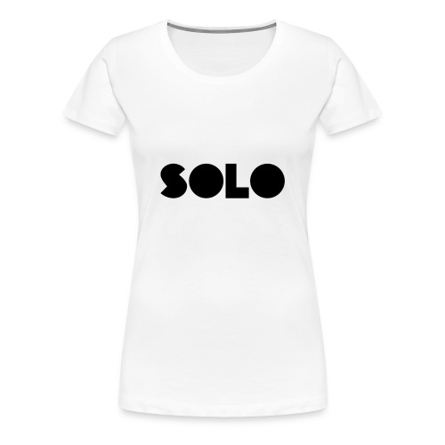 SOLO - Women's Premium T-Shirt