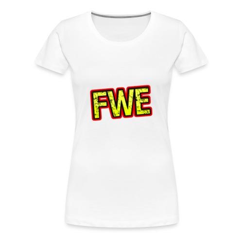 FWE Wrestling Logo - Women's Premium T-Shirt
