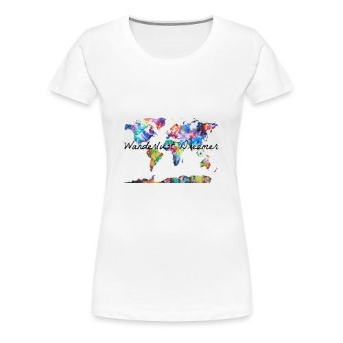 Wanderlust Dreamer - Women's Premium T-Shirt