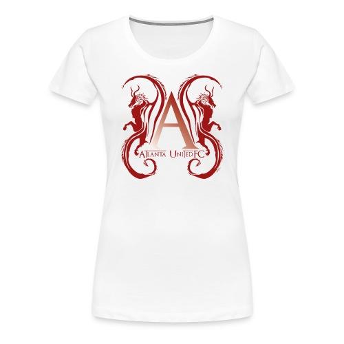 AUFC Logo red - Women's Premium T-Shirt
