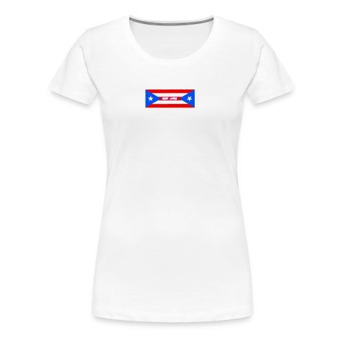 Puerto Rico Logo - Women's Premium T-Shirt