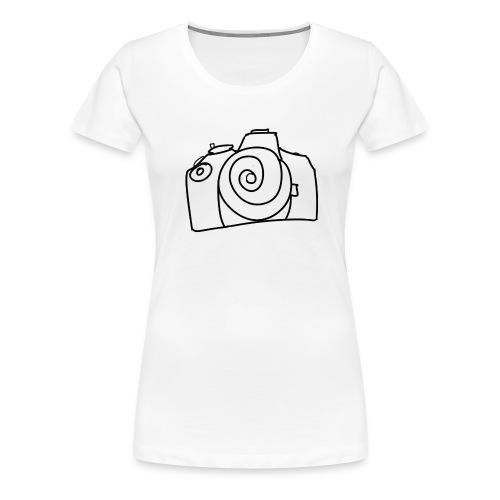 spiral camera - Women's Premium T-Shirt