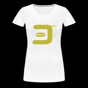 3P white - Women's Premium T-Shirt