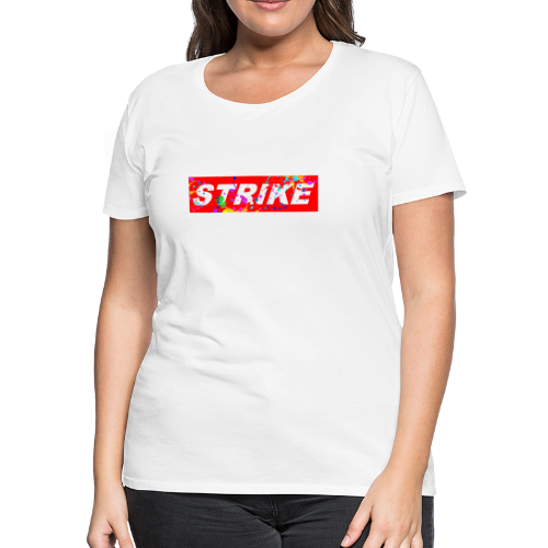 STRIKE COLORSPLASH - Women's Premium T-Shirt