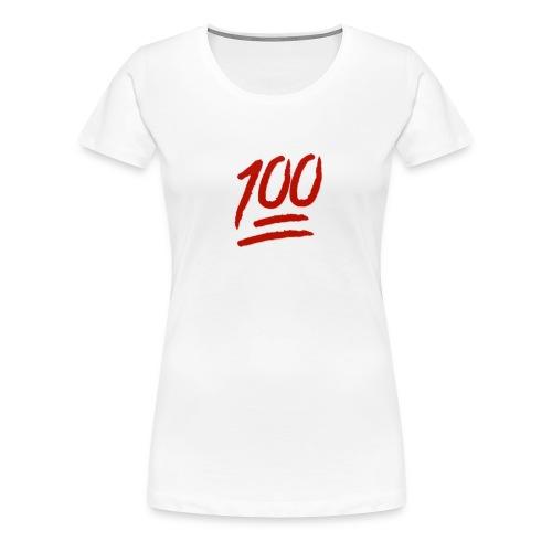 100 flawless - Women's Premium T-Shirt